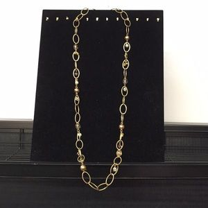 Lane Bryant Chain and Bead Necklace